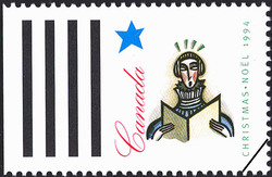 Solo Chorist Canada Postage Stamp | Christmas