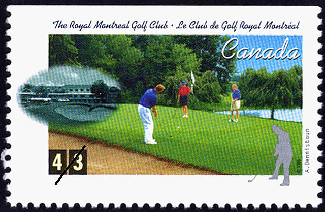 The Royal Montreal Golf Club, Alexander Dennistoun Canada Postage Stamp | Golf in Canada