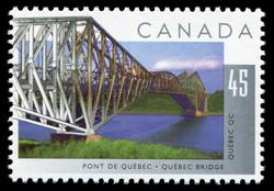 Quebec Bridge, Quebec, Quebec Canada Postage Stamp | Bridges