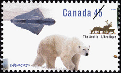 Northern Nature Canada Postage Stamp | The Arctic