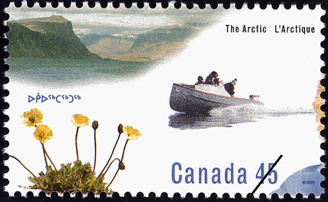 European Influence Canada Postage Stamp