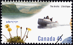 European Influence Canada Postage Stamp | The Arctic
