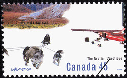 Modern Developments Canada Postage Stamp | The Arctic