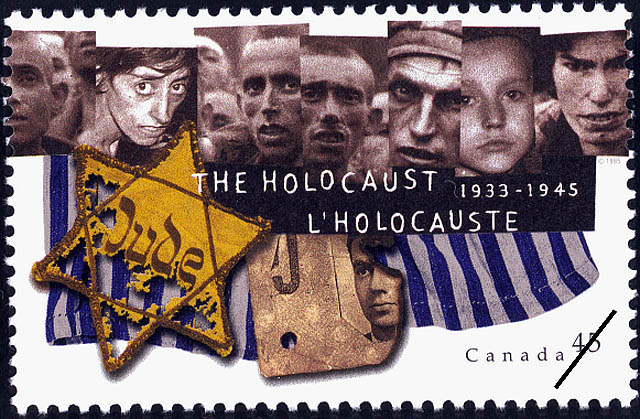 The Holocaust, 1933-1945 Canada Postage Stamp