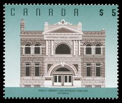 Public Library, Victoria Canada Postage Stamp