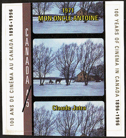 My Uncle Antoine, 1971, Claude Jutra Canada Postage Stamp | 100 Years of Cinema in Canada, 1896-1996