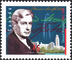 Edouard Montpetit, 1881-1954 Canada Postage Stamp