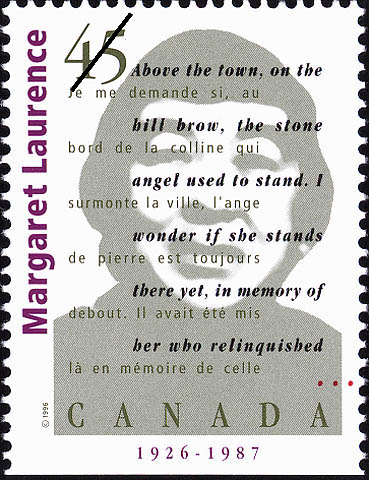 Margaret Laurence, 1926-1987 Canada Postage Stamp | Authors