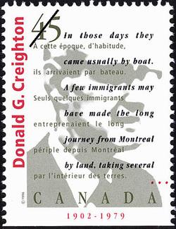 Donald Grant Creighton, 1902-1979 Canada Postage Stamp