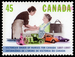 Victorian Order of Nurses for Canada, 1897-1997 Canada Postage Stamp