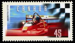 Ferrari T-4, 1979 Canada Postage Stamp | Gilles Villeneuve