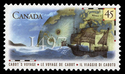 Cabot's Voyage, 1497 Canada Postage Stamp