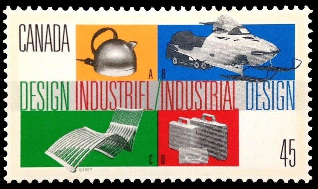 Industrial Design Canada Postage Stamp