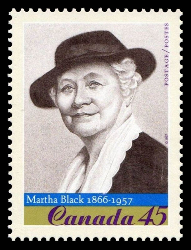 Martha (Munger) Black, 1866-1957 Canada Postage Stamp   Prominent Canadians