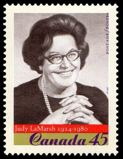 Judy LaMarsh, 1924-1980 Canada Postage Stamp | Prominent Canadians