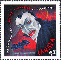 Vampire Canada Postage Stamp | The Supernatural