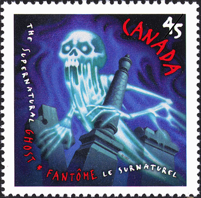 Ghost Canada Postage Stamp | The Supernatural
