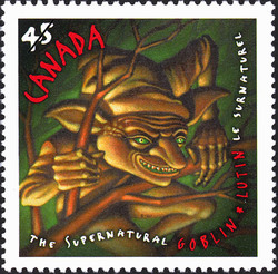 Goblin Canada Postage Stamp | The Supernatural