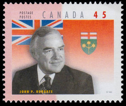John Parmenter Robarts Canada Postage Stamp | Premiers of the Canadian Provinces