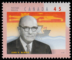 John Babbitt McNair Canada Postage Stamp | Premiers of the Canadian Provinces