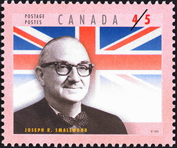 Joseph Roberts Smallwood Canada Postage Stamp | Premiers of the Canadian Provinces