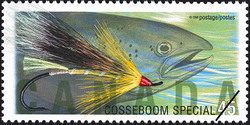 Cosseboom Special Canada Postage Stamp | Fishing Flies