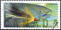 Cosseboom Special Canada Postage Stamp | Fishing Flies