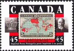 Imperial Penny Postage, Sir William Mulock Canada Postage Stamp