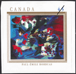 Joie lacustre, Paul-Emile Borduas Canada Postage Stamp | The Automatistes