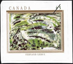 La derniere campagne de Napoleon, Fernand Leduc Canada Postage Stamp | The Automatistes