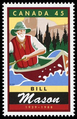Bill (William) Mason, 1929-1988 Canada Postage Stamp | Legendary Canadians