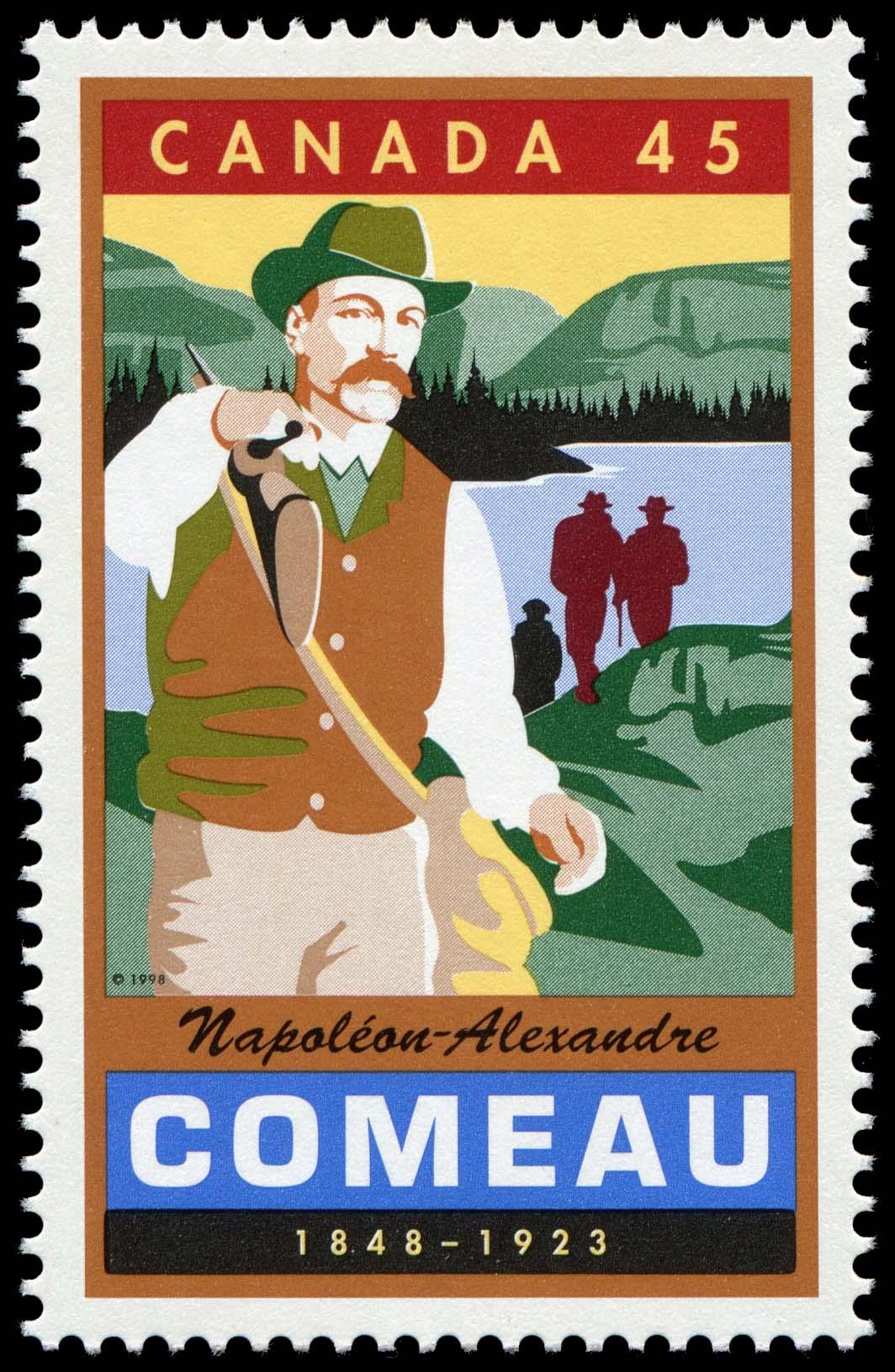 Napoleon-Alexandre Comeau, 1848-1923 Canada Postage Stamp | Legendary Canadians