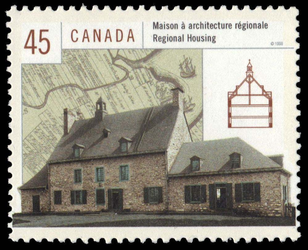 Regional Housing Canada Postage Stamp | Housing in Canada