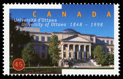 University of Ottawa, 1848-1998, Tabaret Hall Canada Postage Stamp