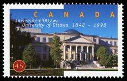 University of Ottawa, 1848-1998, Tabaret Hall Canada Postage Stamp