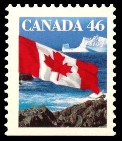 Flag Canada Postage Stamp | Canadian Flag
