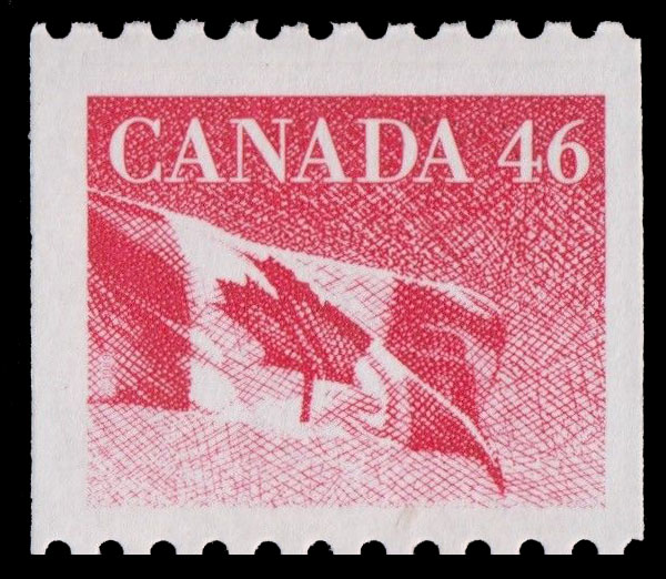 Flag Canada Postage Stamp