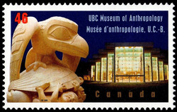 UBC Museum of Anthropology Canada Postage Stamp