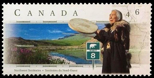 Dempster Highway, Northwest Territories Canada Postage Stamp | Scenic Highways
