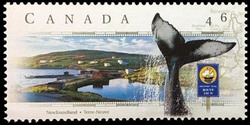 Discovery Trail, Newfoundland Canada Postage Stamp | Scenic Highways