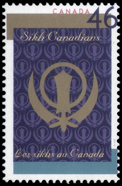 Sikh Canadians Canada Postage Stamp