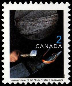 Decorative Ironwork Canada Postage Stamp | Traditional Trades