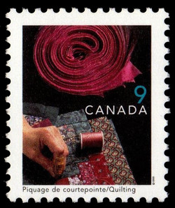 Quilting Canada Postage Stamp | Traditional Trades