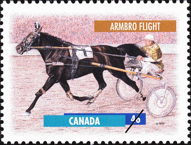 Armbro Flight Canada Postage Stamp   Horses