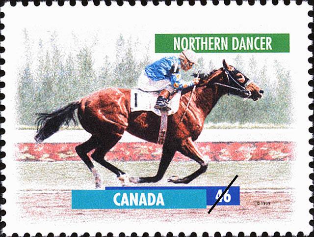 Northern Dancer Canada Postage Stamp | Horses