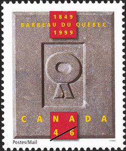 Quebec Bar Association, 1849-1999 Canada Postage Stamp