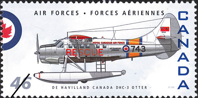 De Havilland Canada DHC-3 Otter Canada Postage Stamp | Air Forces