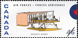 Burgess-Dunne Canada Postage Stamp | Air Forces