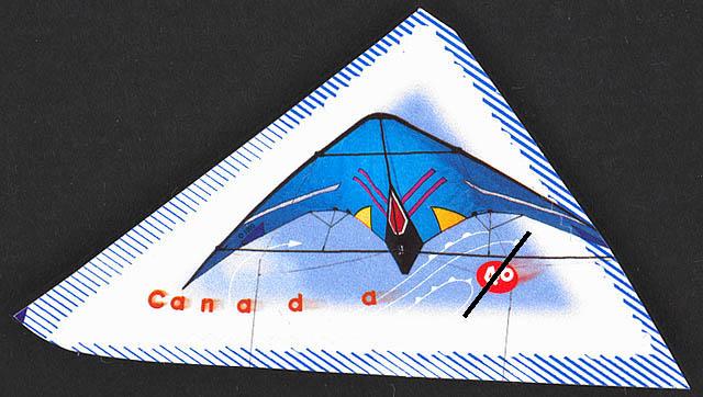 Master Control - Sport Kite Canada Postage Stamp | Kites
