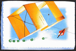 Gibson Girl - Box Kite Canada Postage Stamp | Kites